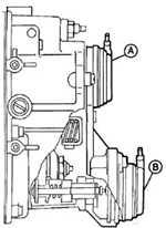 13.13 Электронная система управления оборотами холостого   хода (ELR) Mercedes-Benz W124