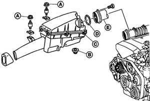 12.5 Кожух воздушного фильтра Mercedes-Benz W124