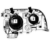 14.5 Замена ламп накаливания Mercedes-Benz W140