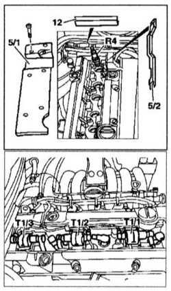 3.26 Проверка и замена свечей зажигания, проверка состояния высоковольтных   проводов (бензиновые модели)