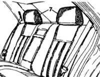 13.33 Снятие и установка подголовников