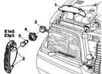 13.35 Передние указатели поворотов - детали установки