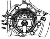 10.4.7 Замена цилиндра дифференциала с автоматической блокировкой (модели   140.028/032/033 до 31.05.94 г. вып. и 140.1 с кодом 211a) Mercedes-Benz W140