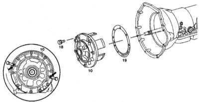 9.3.6 Снятие и установка передней крышки с вторичным насосом