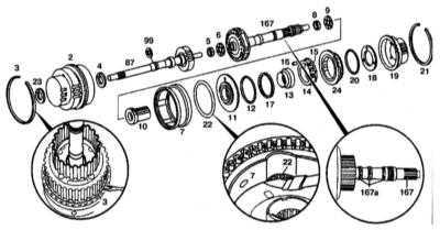 9.3.16 Разборка и сборка планетарных механизмов