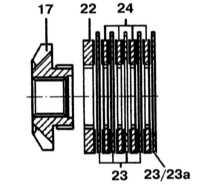 10.4.6 Разборка и сборка дифференциала с автоматической блокировкой Mercedes-Benz W140