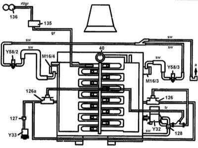 6.9 Системы снижения токсичности выпуска - общая информация Mercedes-Benz W140