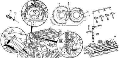 4.27 Снятие и установка компонентов ГРМ
