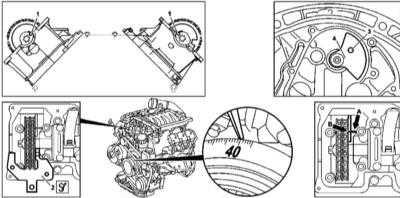 4.10 Проверка базового положения балансировочного вала (только двигатели серии 112)