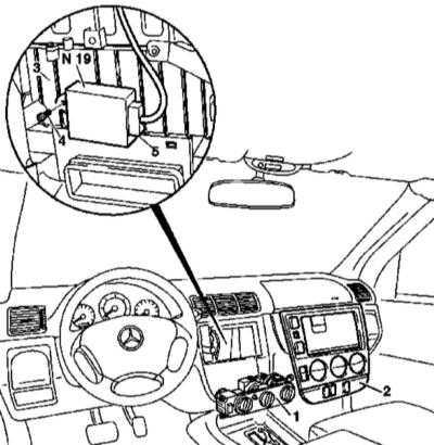 5.29 и установка модуля управления К/В (для моделей 163.113/136/154/172/174 по 31.8.01)