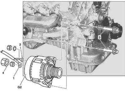 7.24 Снятие и установка генератора