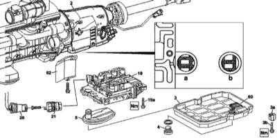 9.4 Снятие и установка электрогидравлического блока управления переключениями