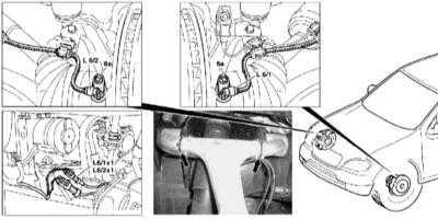 11.19 Снятие и установка колесных датчиков ABS/ETS/ESP