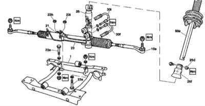 12.25 Снятие и установка рулевого механизма