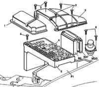 14.8 Монтажные блоки, элементы систем управления