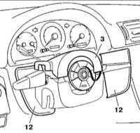 14.12 Панель приборов, переключатели, путевой компьютер