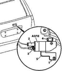 14.47 Снятие и установка усилителя АМ/FM