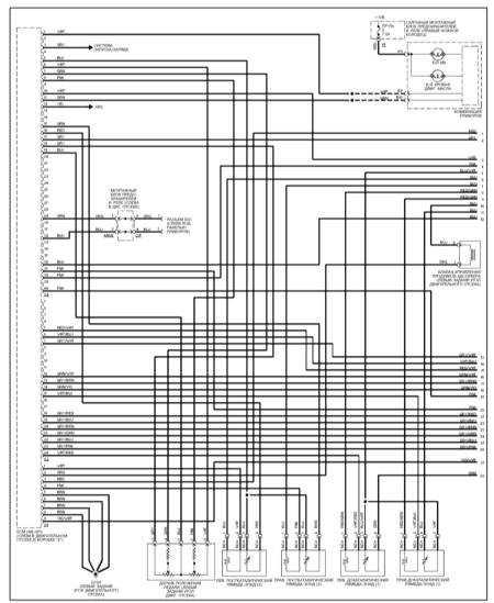 15.13 Система управления двигателем (ML 430)