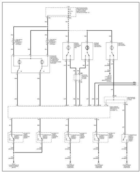 15.25 Освещение салона при открывании дверей (ML 430)