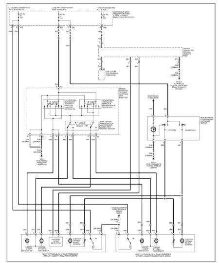 15.31 Электропривод дверных зеркал заднего вида (ML 430)