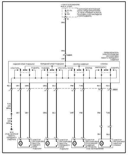 15.32 Электропривод водительского сиденья (ML 430)