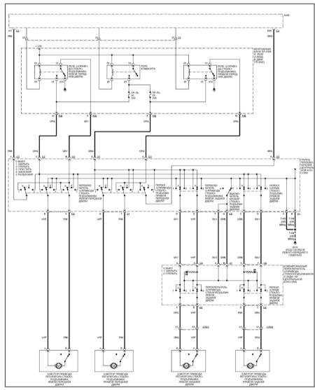 15.37 Электропривод стеклоподъемников (ML 430)