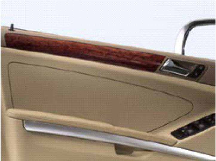 4.3 Варианты внутреннего оснащения Mercedes-Benz W164 (ML Class)