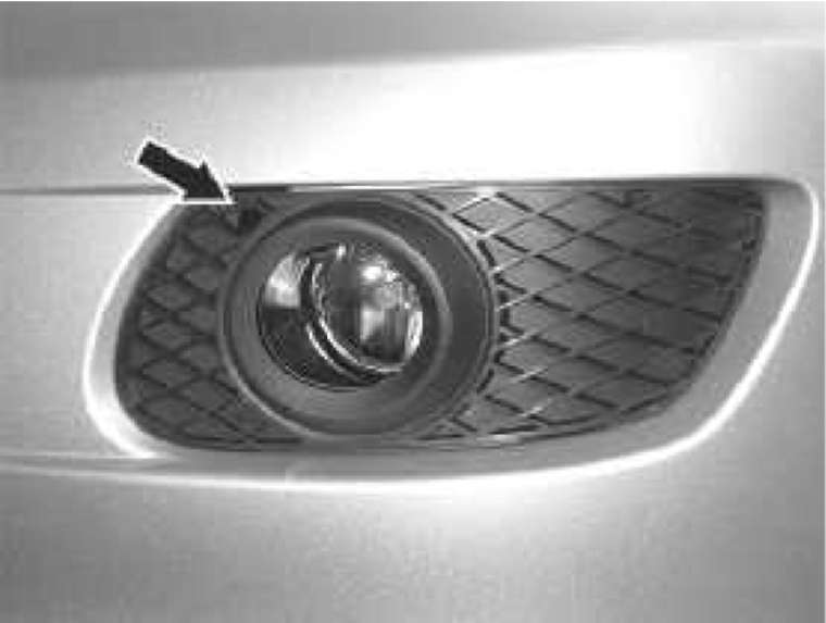 4.8 Наружное освещение Mercedes-Benz W164 (ML Class)
