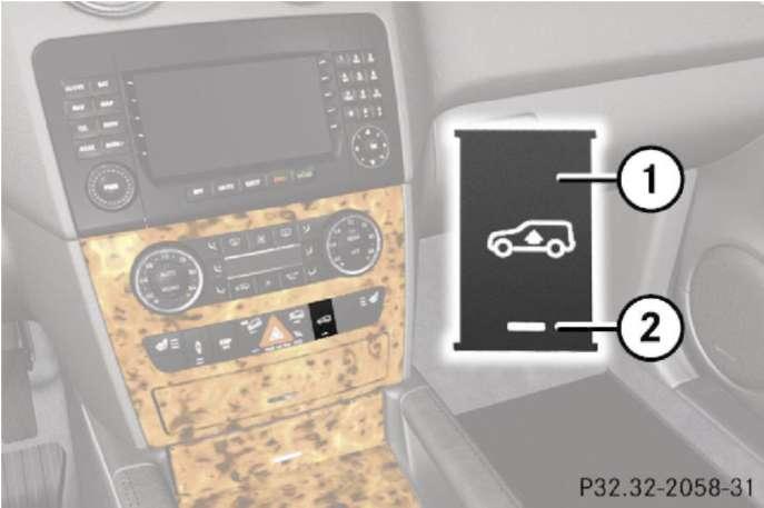 2.2.3 Пневматическая подвеска Mercedes-Benz W164 (ML Class)