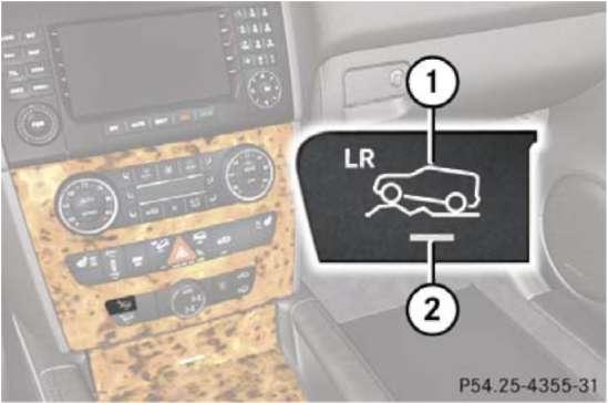 2.3 Системы полного привода Mercedes-Benz W164 (ML Class)
