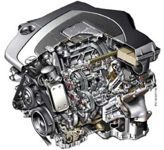 1.3 Электрооборудование двигателя Mercedes-Benz W164 (ML Class)