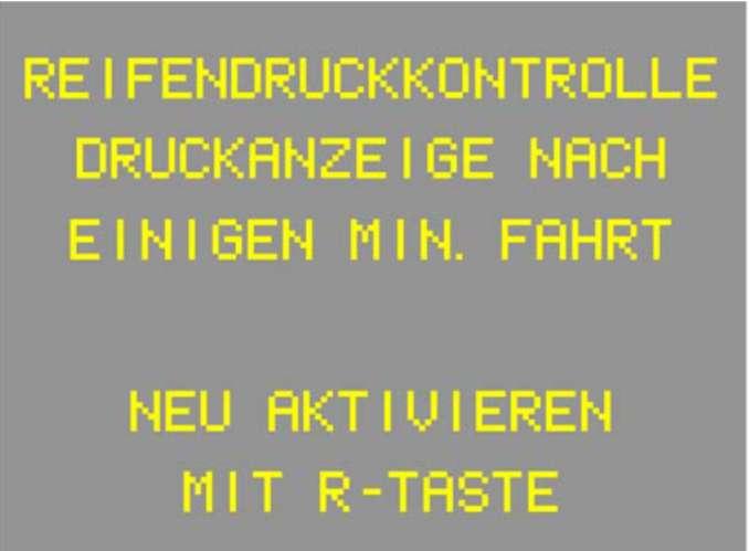 2.4.2 Система контроля за давлением в шинах (RDK)