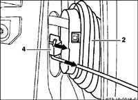 13.3 Задняя дверь Mercedes-Benz W201