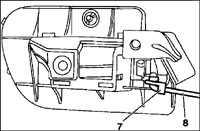 13.7 Внутренняя обшивка дверей Mercedes-Benz W201