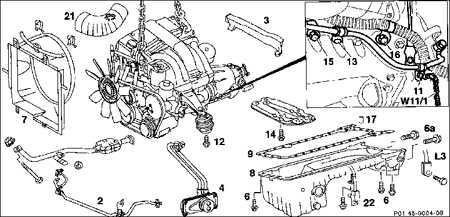 4.7.3 Дизельный двигатель (2,2/ 2,5 л)
