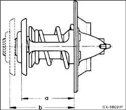 5.4 Терморегулятор охлаждающей жидкости (термостат)