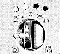1.8.2 Световой поворотный выключатель