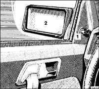 1.8.5 Зеркала Mercedes-Benz W201