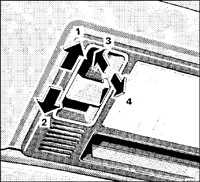 1.8.9 Сдвижной люк Mercedes-Benz W201