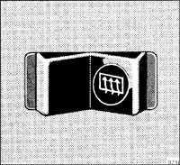 1.8.10 Обогрев заднего стекла