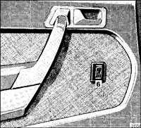 1.8.11 Электроподъемники стекол Mercedes-Benz W201