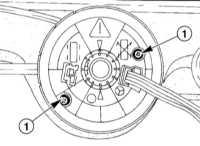 14.22 Снятие и установка подрулевого переключателя