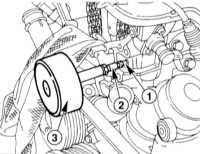 4.4.7 Снятие и установка головки цилиндров Mercedes-Benz W203