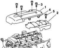4.6.12 Снятие и установка верхней крышки двигателя