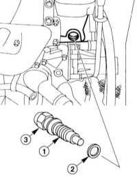 4.6.10 Снятие и установка натяжителя цепи