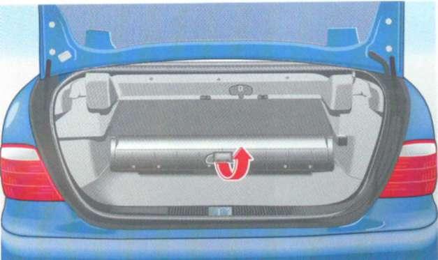 2.15.9 Покрытие для багажа (кабриолет)