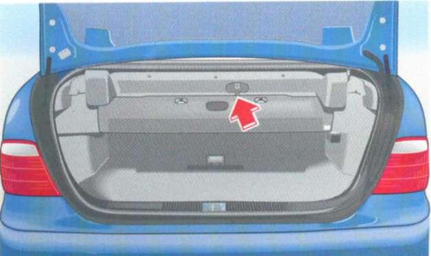 2.15.9 Покрытие для багажа (кабриолет) Mercedes-Benz W208 (CLK Class)