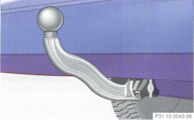 2.15.10 Тягово-сцепное устройство Mercedes-Benz W208 (CLK Class)