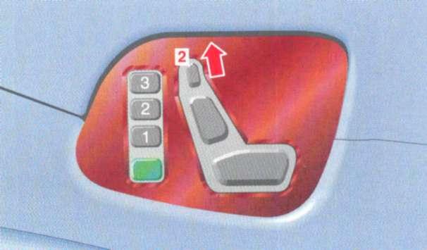 2.3.4 Демонтаж и установка подголовников Mercedes-Benz W208 (CLK Class)