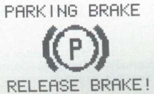 4.3 Индикации системы оповещения и сигнализация неисправностей на мультифункциональном дисплее Mercedes-Benz W208 (CLK Class)